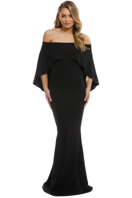 Pasduchas - Composure Gown - Black - Front