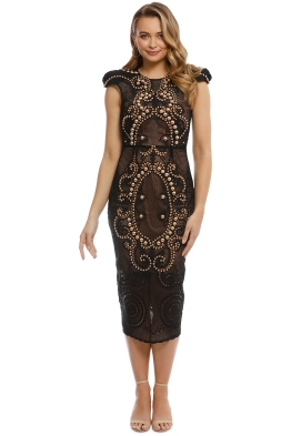 Thurley - Flamenco Dress - Mandarin - Front