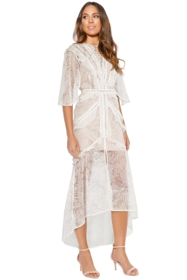 Acler - Vale Dress - Cream - Front