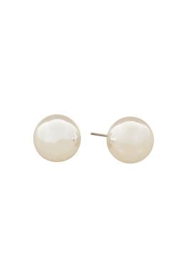 Adorne - 14mm Ball Stud Earring