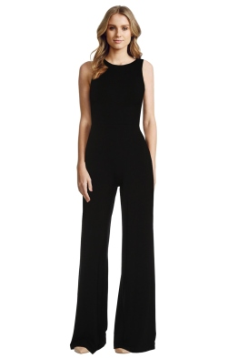 Alice and Olivia - Judee Racer Back Jumpsuit - Front - christmas work function