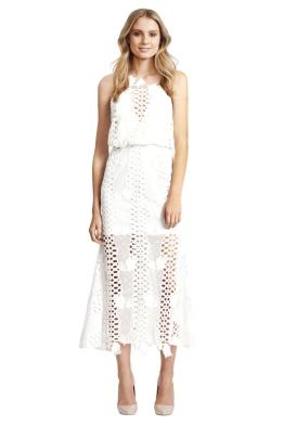 Alice McCall - Love Light Dress - Front - White