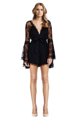 Gemini Playsuit Black