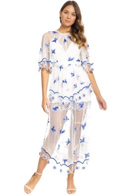 Alice McCall - Marigold Dress - Porcelain Sugarplum - Front