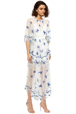Alice McCall - Marigold Dress - Porcelain Sugarplum - Front