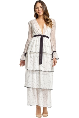 Alice McCall - Now or Never Dress - White - Front