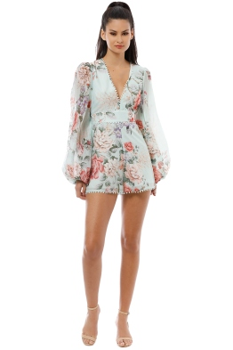 a80561b9ec Alice McCall - One By One Playsuit - Peppermint - Front