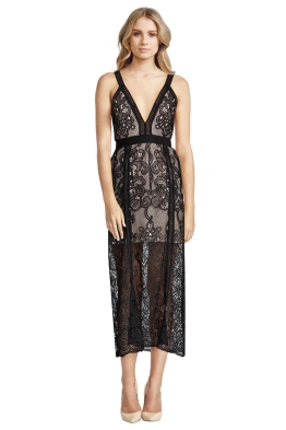 Alice McCall - Wanderlust Dress - Black - Front