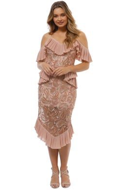 Alice McCall - We Could Be Friends Dress - Blush - Front