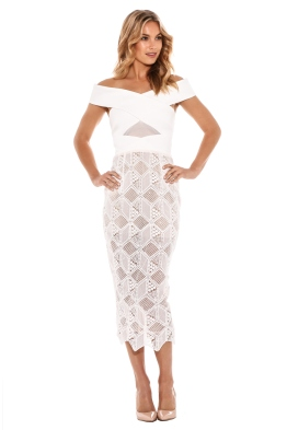 Asilio - The Nadia Dress - White - Front