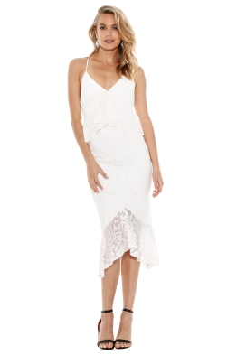 Bec & Bridge - Marvel Lace Midi Dress - Front