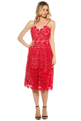 Bronx and Banco - Cherry Florence Midi - Red - Front