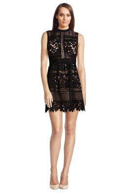 Bronx & Banco - Katya Dress - Front - Black