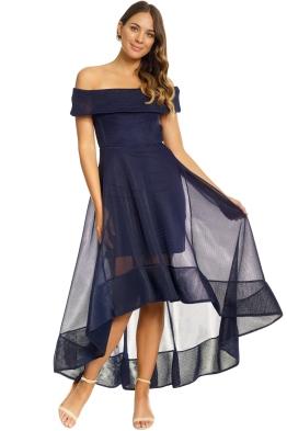 Bronx & Banco - Tulip Dress - Navy - Front