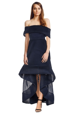 Bronx & Banco - Tulip Dress - Navy - Front