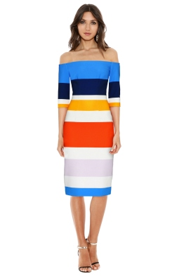 By Johnny - Bermuda Stripe Cut Off Dress - Front