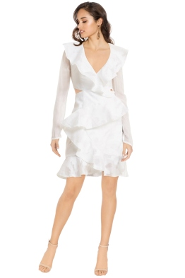 Cameo - Ember LS Dress - Ivory - Front
