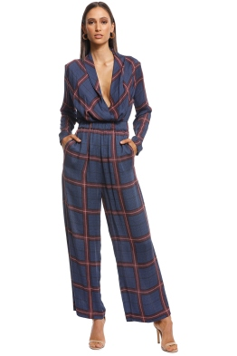 Camilla and Marc - Alaine Trouser - Navy - Front
