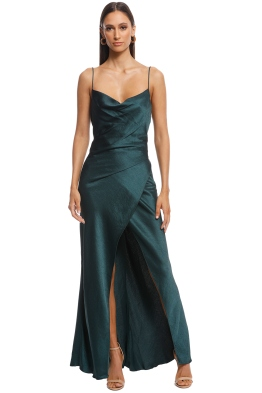 Camilla and Marc - Bowery Slip Dress - Fitzgerald Green - Front