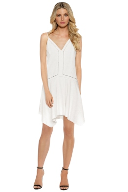 Camilla and Marc - Roman Dress - White - Front
