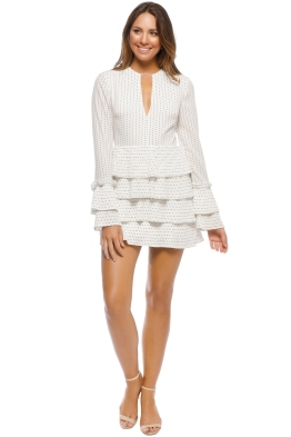 CMEO - Fundament Dress - Ivory Spot - Front