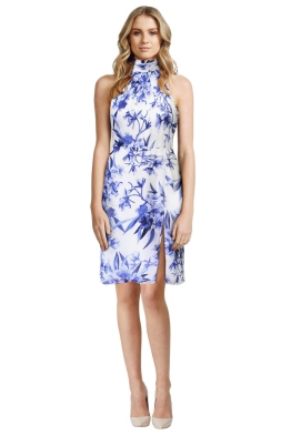 Fame & Partners - Joys Azalea Floral Dress - Front