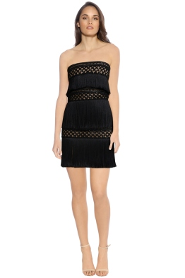 Eliya - Divinity Dress - Black Nude - Front