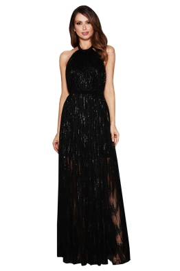 Elle Zeitoune - Gwyneth Black Gown - Front