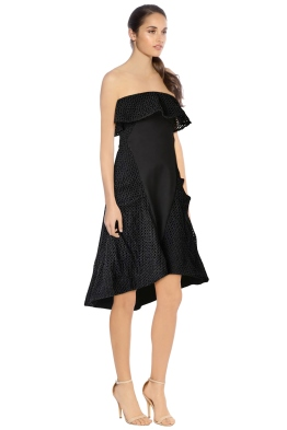Elliatt - Belle Dress - Black - Side