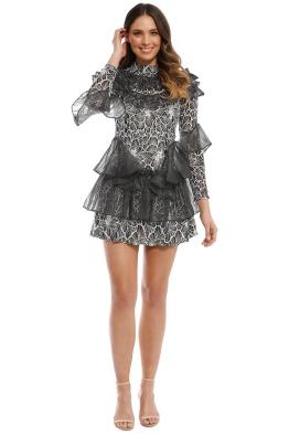 Elliatt - Bellissima Dress - Charcoal - Front