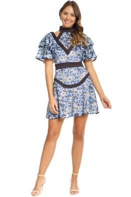 Elliatt - Capulet Dress - Blue - Front