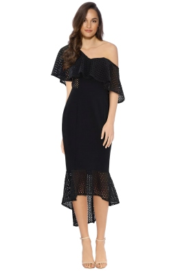 Elliatt - Harlow Dress - Black - Front