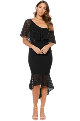 Elliatt - Harlow Dress - Black - Front