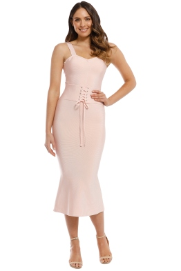 Elliatt - Kim Dress - Blush - Front