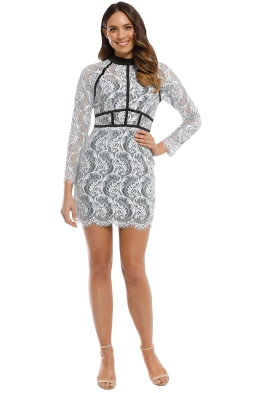 Elliatt - Millie Dress - Sky White - Front