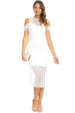 Elliatt - Oberon Dress - White - Front
