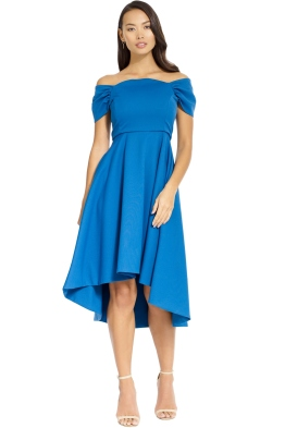 Elliatt - Palace Dress - Blue - Front