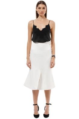 Elliatt - Plaza Skirt - White - Front