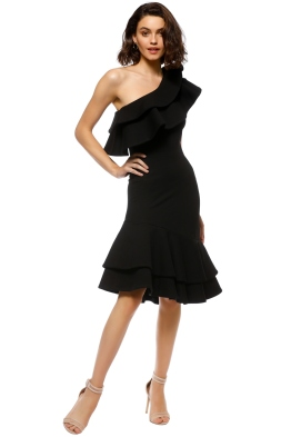 Elliatt - Revel Dress - Black - Front