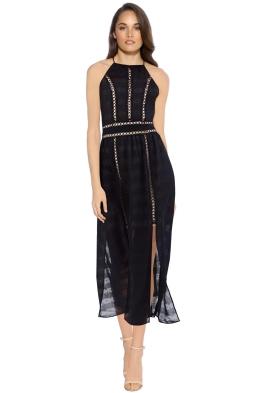 Elliatt - Theory Dress - Black - Front