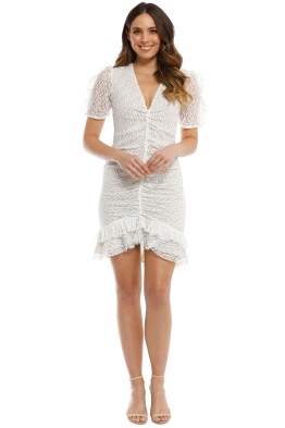 Elliatt - Venice Dress - White - Front