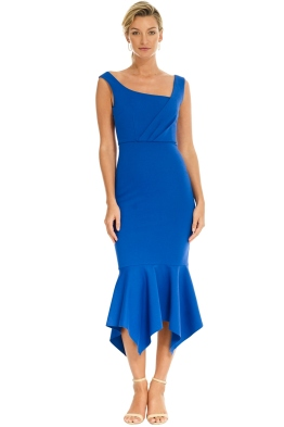 Elliatt - Viola Dress - Cobalt Blue - Front