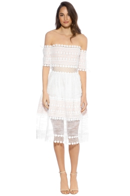 Elliatt - Winslow Dress - White - Front