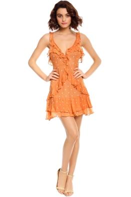 Analisa Polka Dot Tank Dress - Copperdot