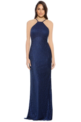George - Zali Gown - Navy - Front