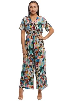 Gorman - Celebration Pantsuit - Multi - Front