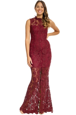 Grace and Hart - Espresso Gown - Red - Front