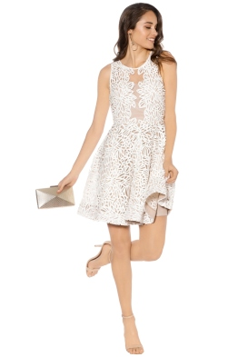 Grace and Hart - Fortress Fit n Flare - White - Front