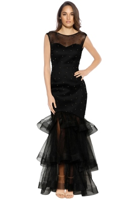 Grace and Hart - Groove Armada Gown - Black - Front