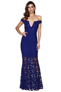 Grace & Hart - Heart Beat Gown - Royale - Front